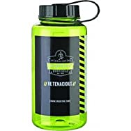 Ergodyne13153Wide Mouth Sport Bottle-WIDE MOUTH WATER BOTTLE