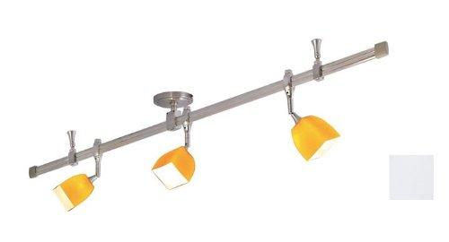 Nora Lighting NRS29-4201BNW 3 Light Straight Rail Track Lighting