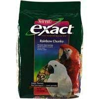 Exact Rainbow Chunky Pet Bird Food - 4 Lb Bags, 6 per case