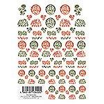 ツメキラ メンズスタイル アジアン レッドグリーン