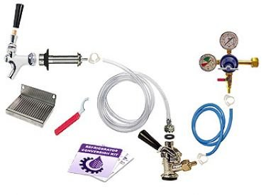 Deluxe Keg Tap Refrigerator Kegerator Conversion Kit
