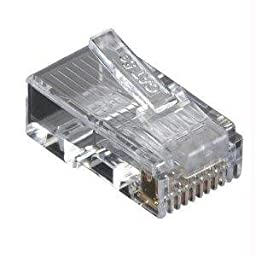 Black Box Network Services Cat5e Mod Plug Unshld 100 Pack - By \