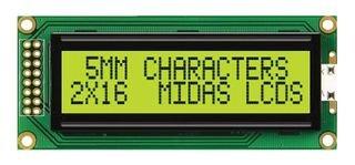 midas-mc21605b6wk-sptly-lcd-2x16-stn-y-g-b-l-5mm