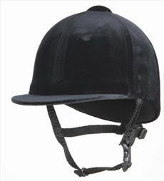 Champion Junior Riding Hat-Black 6 3/4
