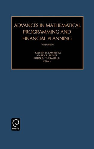 Advances in Mathematical Programming and Financial Planning, Volume 6