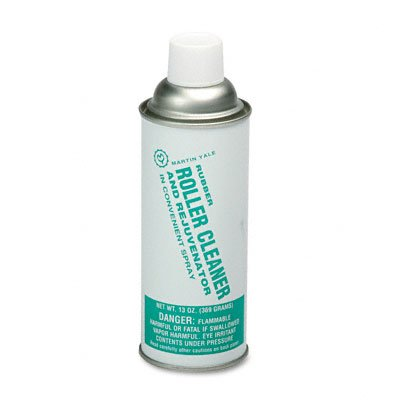 Martin Yale Rubber Roller Cleaner for Martin Yale Folders, 13-oz. Spray Can
