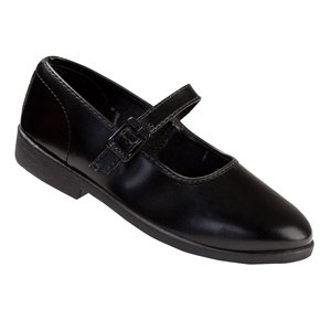 Bata Ballerina (6-14 Yrs) | Size 8 | Color Black