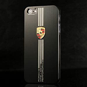 pour Iphone 5 Coque Noire Design Porsche: Amazon.fr: High-tech