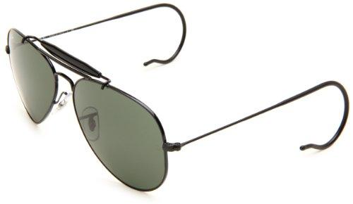 Ray-ban-Men-Mod-3030-Sunglasses-black-size-58