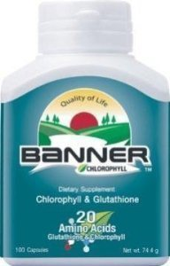 BANNER PROTEIN CHLOROPHYLL (Green) 100 Capsule