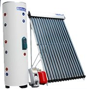 400 Liter Solar Water Heater System with Electrical Backup Heating