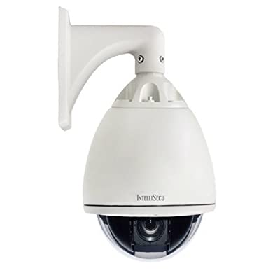"IntelliSecu 7"" PTZ Dome Camera."