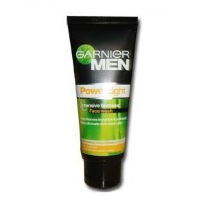 Garnier For Men Powerlight Intensiv Fairness Face Wash 100 G [Health And Beauty]