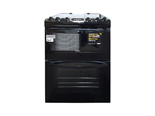 Zanussi Avanti ZCV68300BA Electric Cooker - Black - 1995558