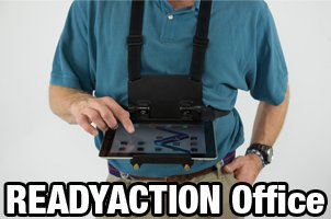 READYACTION Office - Chest Harness for iPad Air, iPad Mini and Similar Tablets (Tablet Harness compare prices)
