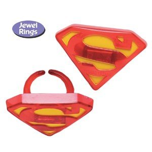 Superman Emblem Rings