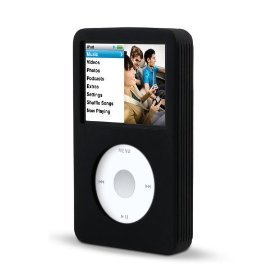 Belkin Silicone Sleeve Case for 80/120 GB iPod classic 6G (Black)