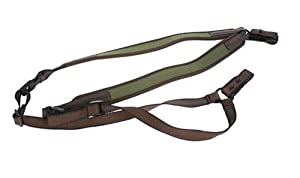 Vero Vellini Double Sling, Forest Green Brown Leather by Vero Vellini