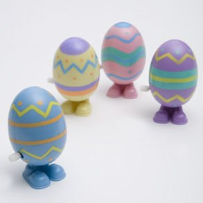 Wind Up Jumping Eggs!