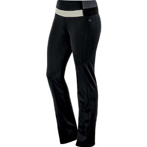 Asics 125877 Womens Fit-Sana Slim Pant, Performance Black/Ur