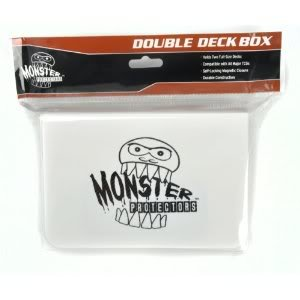 Exceptional Monster Protectors Trading Card Double Deck Box With Self-Locking Magnetic Closure Toy / Game / Play / Child / Kid