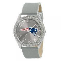 Ladies NFL Jewelry New England Patriots Glitz Silver Watch by NFL