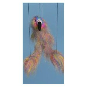 Flamingo (Rainbow) Small Marionette by Sunny Puppets