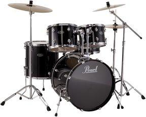 drum sets pearl center stage drum set jet black. Black Bedroom Furniture Sets. Home Design Ideas