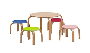 Legare Kids' Table with 4 Stools