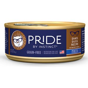 Nature's Variety Pride By Instinct Grain-Free Canned Cat Food - Diva's Duck Recipe
