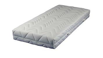 Breckle Vital Spring 5-Zonen Taschenfederkernmatratze in Überlänge 100 x 220 cm im Härtegrad 2 / H2 – sofort lieferbar
