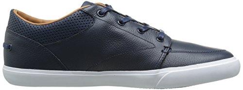Lacoste Men's Bayliss Vulc Prm Casual Shoe Fashion Sneaker, Dark Blue/Dark Blue, 8 M US