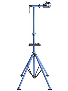 BDBikesTM - Bike or Cycle Repair and Maintenance Stand with 360* Swivel Head, Quick Release Frame Clamp and Folding Legs