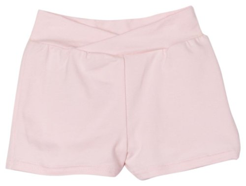 Capezio Little Girls' Short With Rhinestone Applique, Pink, T (2-4) front-821352