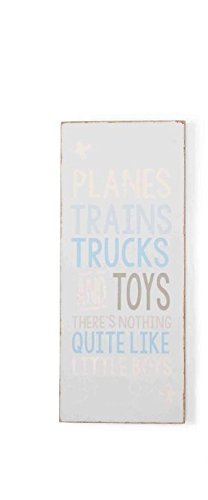Mud Pie Plaque, Planes and Trains