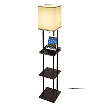 Share facebook twitter pinterest currently unavailable we for Amazon floor lamp shelf