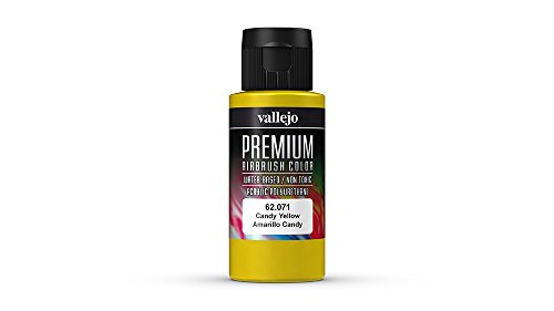 Vallejo Color Candy Yellow Premium RC Colors