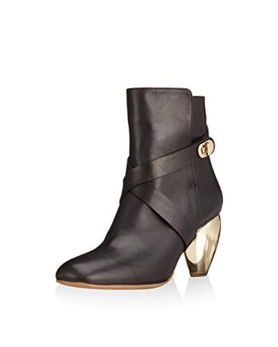 Fersengold Ankle Boot schwarz