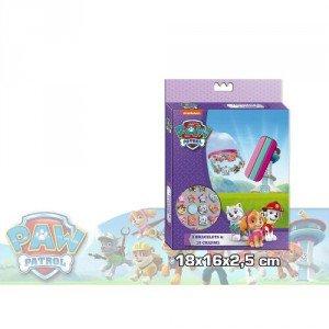 Paw Patrol - Skye set de pulseras con 3 brazaletes + 18 colgantes (Kids PW0006)