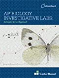 img - for AP Biology Investigative Labs: An Inquiry-Based Approach Teacher Manual book / textbook / text book