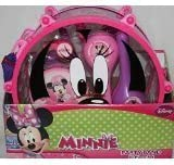 Disney Minnie Mouse Music Melody Bundle - 1 x Minnie Mouse Party Band 10 Piece Play Set amp Minnie39