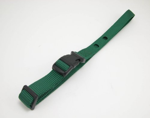 Dog Fence Receiver Heavy Duty Replacement Strap Green
