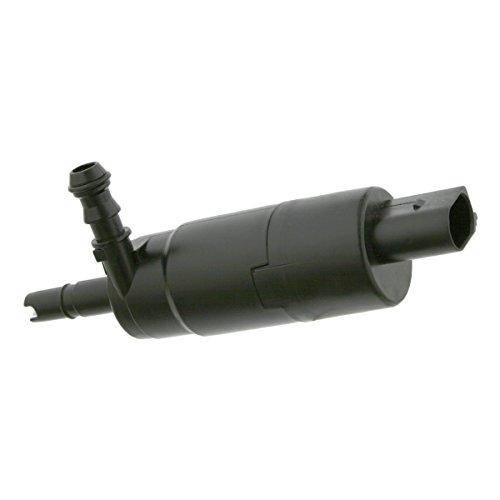 febi bilstein 26274 Waschwasserpumpe, Wischwasserpumpe für Scheinwerferreinigungsanlage (u.a. für Audi, VW, Skoda, Ford, BMW)