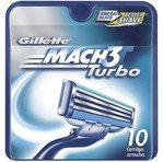 Gillette MACH3 Turbo Cartridges, 10-Count Blister Sustainable Pack