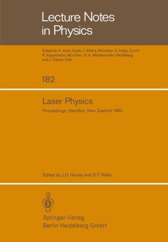 Laser Physics: Proceedings of the Third New Zealand Symposium on Laser Physics, held at the University of Waikato, Hamil