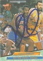 Charles Oakley New York Knicks 1992 Fleer Ultra Autographed Hand Signed Trading Card... by Hall of Fame Memorabilia