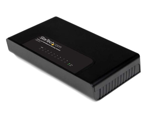 StarTech.com 8 Port Fast Ethernet Switch for 10/100 Desktop Wall Mount Network Switch and 10/100 Desktop Switch (DS81072) (Portable Network Switch compare prices)