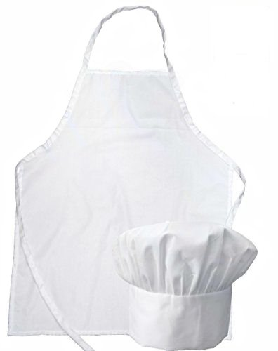 Chef Set Apron and Hat Youth White (Puppet Chef compare prices)