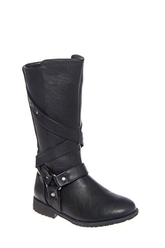 Girl's Danica Mix Low Heel Boot