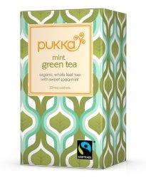 Pukka Herbs Organic Mint Green Tea - Pack of 20 Sachets